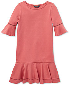 Polo Ralph Lauren Toddler Girls Ponté-Knit Dress