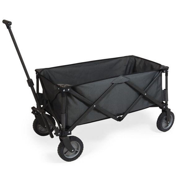 Picnic Time Oniva® by Adventure Wagon Dark Grey Folding Utility Wagon
