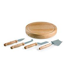 Picnic Time Circo Cheese Board & Tools Set