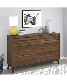 Ameriwood Home Orchard Point 6-Drawer Dresser