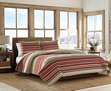 Eddie Bauer Yakima Valley Red King Quilt Set