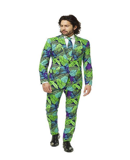 OppoSuits Men's Juicy Jungle Plant Suit