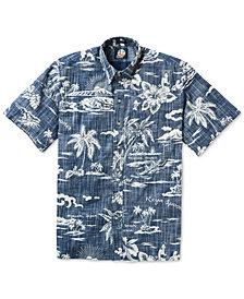 Reyn Spooner Men's Palm Tree Graphic Shirt