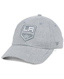 Authentic NHL Headwear Women's Los Angeles Kings Lux Fundamental Adjustable Cap