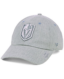 Authentic NHL Headwear Women's Vegas Golden Knights Lux Fundamental Adjustable Cap