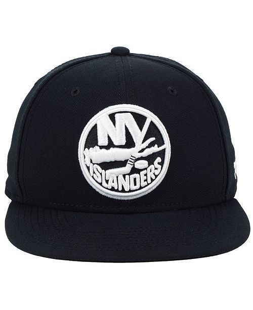 9bdcef98390 Nhl Authentic Headwear New York Islanders Black Dub Fitted Cap