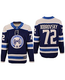 Authentic NHL Apparel Men's Sergei Bobrovsky Columbus Blue Jackets Breakaway Player Jersey