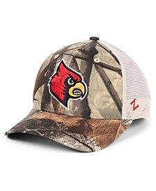 Zephyr Louisville Cardinals Recon Camo Trucker Cap