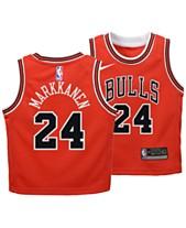 more photos 0a71c 7045d Nike Lauri Markkanen Chicago Bulls Icon Replica Jersey, Toddler Boys (2T-4T)
