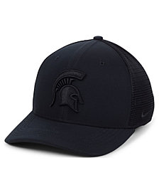 Nike Michigan State Spartans Aerobill Black Swoosh Cap