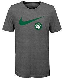 Nike Boston Celtics Swoosh Team T-Shirt 2018, Big Boys (8-20)