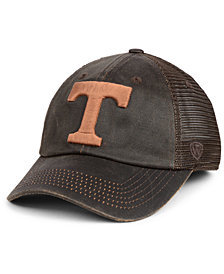 Top of the World Tennessee Volunteers Chestnut Waxed Adjustable Strapback Cap
