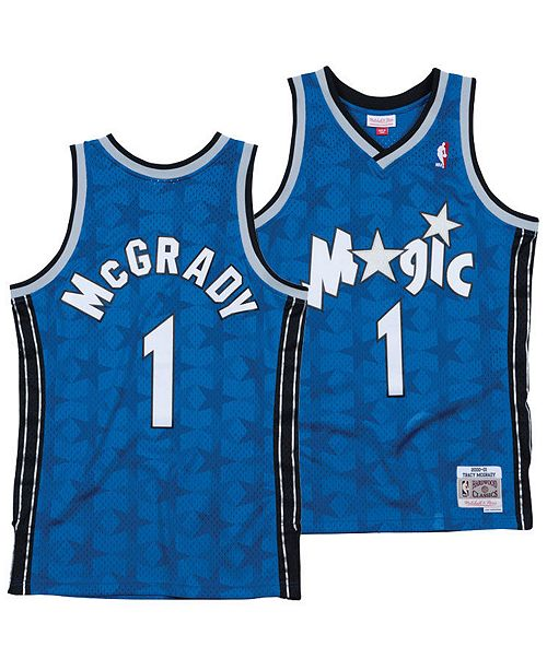 outlet store 96315 b10a6 Mitchell & Ness Men's Tracy McGrady Orlando Magic Hardwood ...