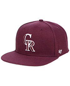 '47 Brand Colorado Rockies Autumn Snapback Cap