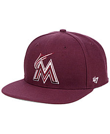 '47 Brand Miami Marlins Autumn Snapback Cap