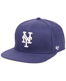 '47 Brand New York Mets Autumn Snapback Cap