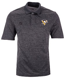 Authentic NHL Apparel Men's Pittsburgh Penguins Pro Clutch Polo