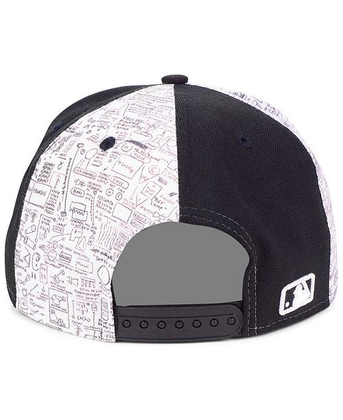 af9cbf0c393b0 New Era New York Yankees Jean-Michel Basquiat Collection 9FIFTY Snapback  Cap ...