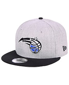 New Era Orlando Magic Heather Gray 9FIFTY Snapback Cap