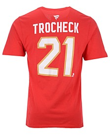 Men's Vincent Trocheck Florida Panthers Authentic Stack Name & Number T-Shirt