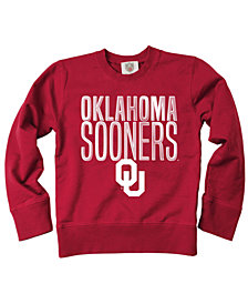 Wes & Willy Oklahoma Sooners Crew Neck Sweatshirt, Toddler Boys (2T-4T)