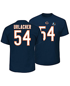 Majestic Men's Brian Urlacher Chicago Bears Hall of Fame Eligible Receiver Triple Peak T-Shirt