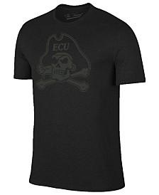 Champion Men's East Carolina Pirates Black Out Dual Blend T-Shirt
