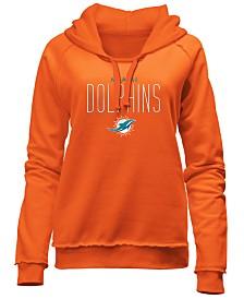 5th & Ocean Women's Miami Dolphins Fleece Pullover Hoodie