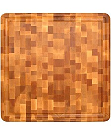 Slab End Grain With Groove