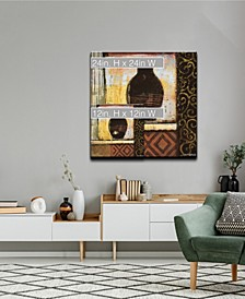 'Ancient Vase IV' Abstract Canvas Wall Art Collection