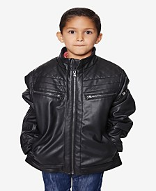 Buffalo Boys Faux Leather Moto