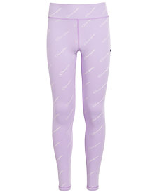 Champion Big Girls Logo-Print Leggings