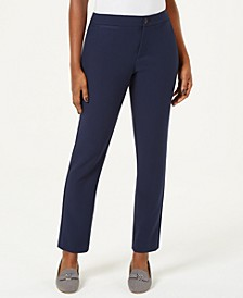 Petite Straight-Leg Pants, Created for Macy's