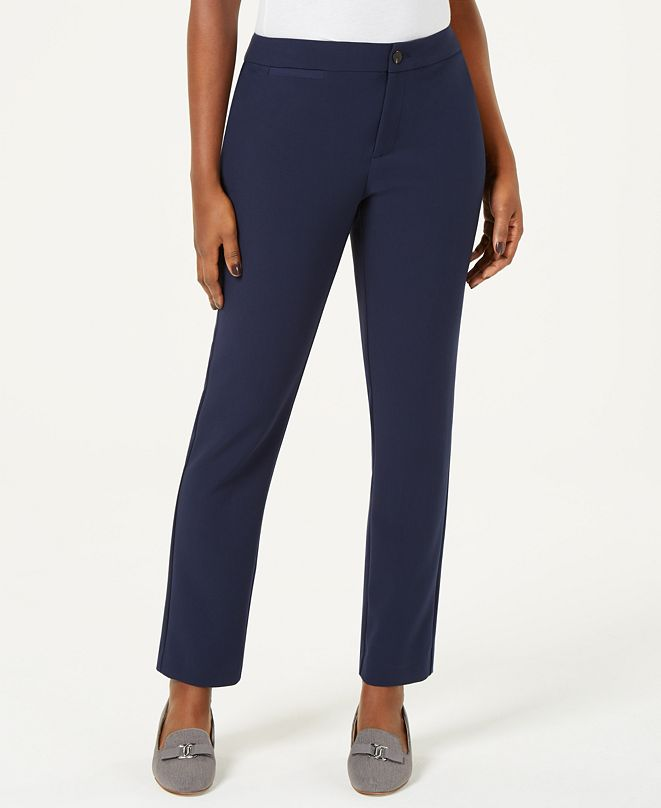 Charter Club Newport Straight-Leg Pants, Created for Macy's