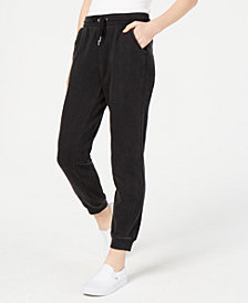 Material Girl Juniors' Mineral Wash Sweatpants, Created for Macy's