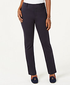 Charter Club Petite Ponté-Knit Skinny Pants, Created for Macy's