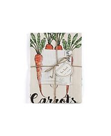 Shiraleah Carrot Tea Towel Set