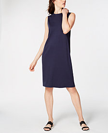 Eileen Fisher Crewneck Sheath Dress, Regular & Petite