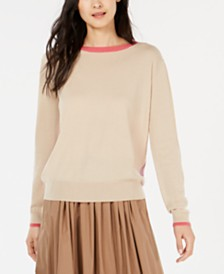 Weekend Max Mara Contrast-Trim Sweater