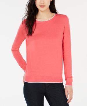 Weekend Max Mara Sweaters CONTRAST-TRIM SWEATER