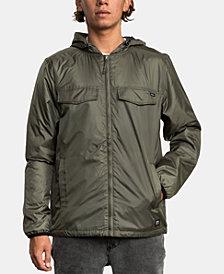 RVCA Men's Hooded Tracer Jacket