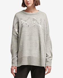 DKNY Camo Logo Sweater