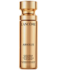 Lancôme Absolue Revitalizing Oleo-Serum With Grand Rose Extracts, 1 oz.