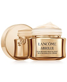 Lancôme Absolue Revitalizing Eye Cream With Grand Rose Extracts, 0.7 oz.