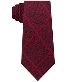 MICHAEL Michael Kors Men's Herringbone Grid Tie