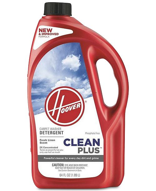 Hoover Clean Plus 2X Carpet Washer Solution, 64-oz.