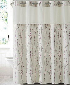 Hookless Cherry Bloom 3-in-1 Shower Curtain