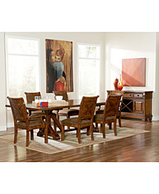 dining room sofa modern mandara dining room furniture collection collections macys