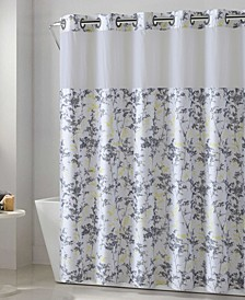 Floral Leaves 3-in-1 Shower Curtain