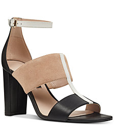 Nine West Nohea Colorblocked City Sandals